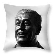 The Saint Of Dreams Throw Pillow