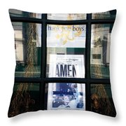 The Saints Deliver Throw Pillow