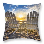 The Salt Life Throw Pillow