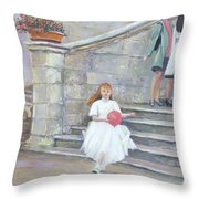 The San Gimignano Wedding Party Throw Pillow