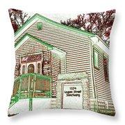 The Sanctuary 2 Throw Pillow