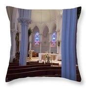 The Sanctuary  Throw Pillow