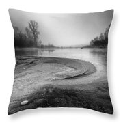 The Sands Of Time Throw Pillow by Davorin Mance