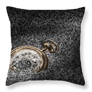 The Sands Of Time Throw Pillow by Tom Mc Nemar