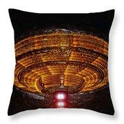 The Saucer Throw Pillow