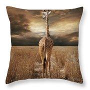 The Savannah Throw Pillow