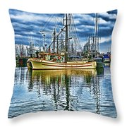 The Savory Hdr Throw Pillow