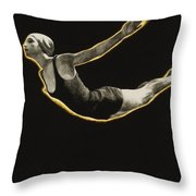 The Sawn Dive Circa 1939 Throw Pillow by Aged Pixel