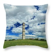 The Scaffolding Throw Pillow