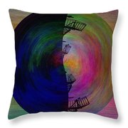 The Scape Throw Pillow