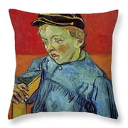 The Schoolboy Throw Pillow