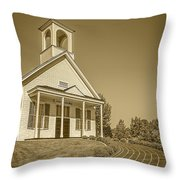 The Schoolhouse Hdr Throw Pillow