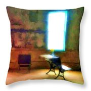 The Schoolhouse Throw Pillow