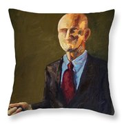 The Scientist Throw Pillow