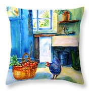 The Scullery  Throw Pillow