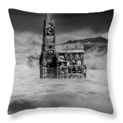 The Sea Of Remembrance Throw Pillow