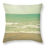 The Sea The Sea Throw Pillow