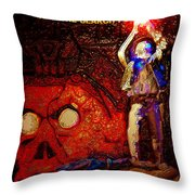 The Search For A Macguffin Throw Pillow