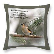 The Season Of Love  Throw Pillow