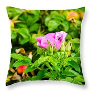 The Season Of Ripening - Featured 3 Throw Pillow