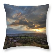 The Seat Throw Pillow