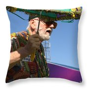 The Second Liner Throw Pillow