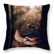 The Secret Forest Throw Pillow