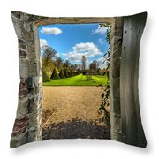 The Secret Garden Throw Pillow