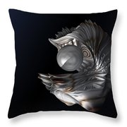 The Secret Pearl Throw Pillow