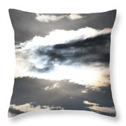The Secret Sky Throw Pillow