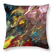 The Secrets Of Nature Throw Pillow