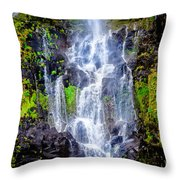 The Seduction Of Water Throw Pillow