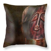 The Seekers Throw Pillow by Terry Fleckney