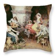 The Serenade Throw Pillow