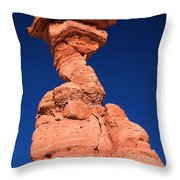 The Serpent Hoodoo Throw Pillow