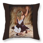 The Servant Princess Throw Pillow
