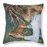 The Seven Spirits Series - The Spirit Of Knowledge Throw Pillow