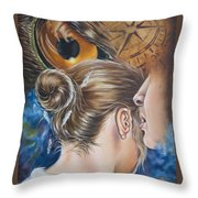 The Seven Spirits Series - The Spirit Of Counsel Throw Pillow