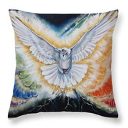The Seven Spirits Series - The Spirit Of The Lord Throw Pillow
