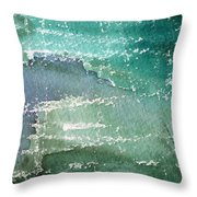 The Shallow End Throw Pillow