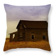 The Shambles Of Dreams Gone By Throw Pillow by Jeff Swan