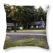 The Shamrock Logetts  Throw Pillow