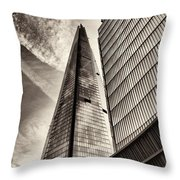The Shard - The View Throw Pillow