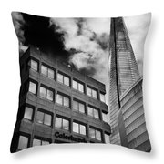 The Shard From Tooley Street Throw Pillow