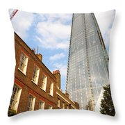 The Shard In London Throw Pillow