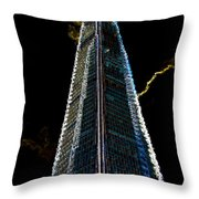 The Shard London Art Throw Pillow