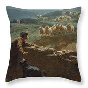The Sheepstealer Throw Pillow