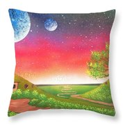 The Shire Throw Pillow