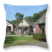 The Shoppes Throw Pillow
