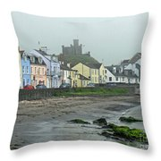 The Shores Of Ireland Throw Pillow